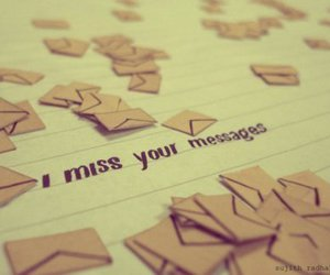 message, miss, and text image