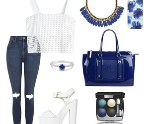 blue, jeans, and moda image
