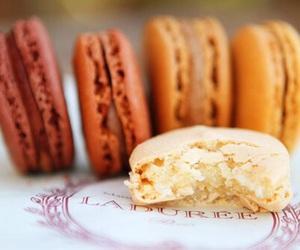 food, yummy, and macaroons image