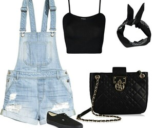 black, jeans, and moda image