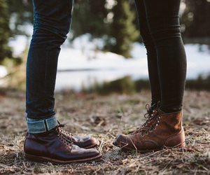 couple, hipster, and lovely image