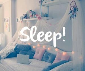 sleep, bed, and room image