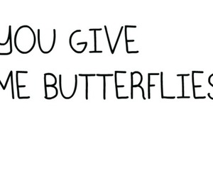 butterflies, crush, and text image