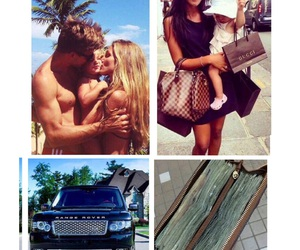 car, money, and love image