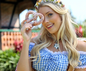 germany, girl, and oktoberfest image