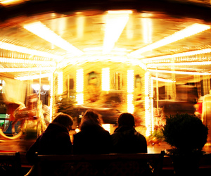 canon, light, and merry go round image