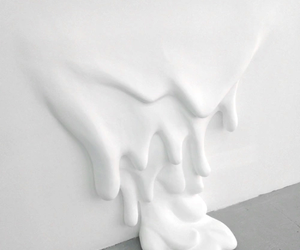 white, aesthetic, and art image