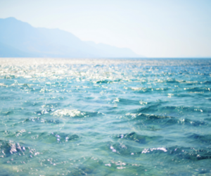 sea, summer, and blue image