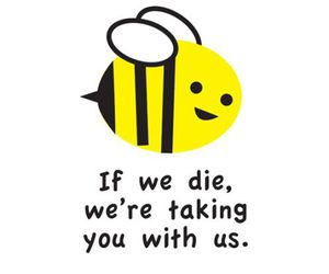 bee and save the bees image