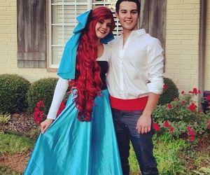 couple and Halloween image