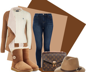fall, fashion, and hats image