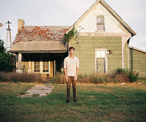 boy, house, and nature image