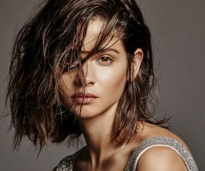 brunette, model, and alba galocha image