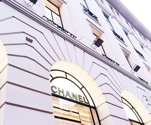 purple, lilac, and chanel image