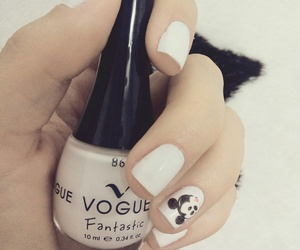 nails, white, and vogue image