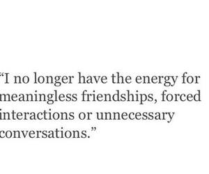 quote, conversation, and friendship image