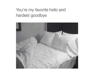 bed, funny, and goodbye image