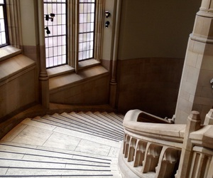 library, seattle, and staircase image