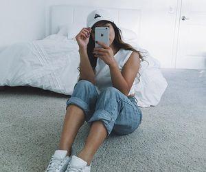 girl, adidas, and fashion image