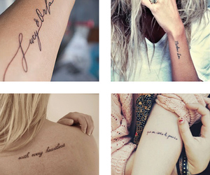 tattoo and typeface image