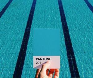 blue and pantone image