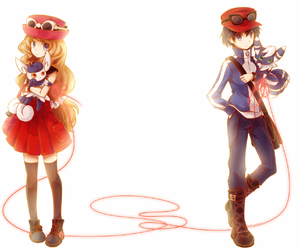calme, pokemon, and serena image