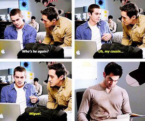 teen wolf, miguel, and stiles image