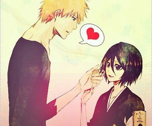 anime, bleach, and ichiruki image