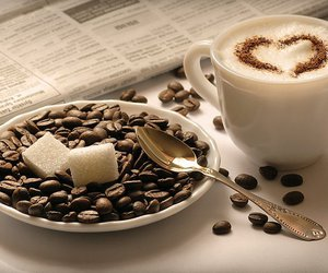 coffee, coffee beans, and coffee time image