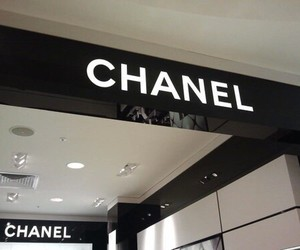 chanel, pale, and black image