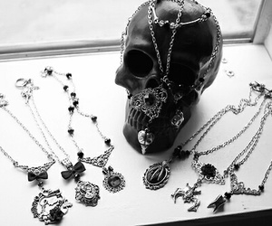 goth and necklace image