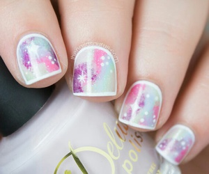 cotton candy, lilac, and galaxy image