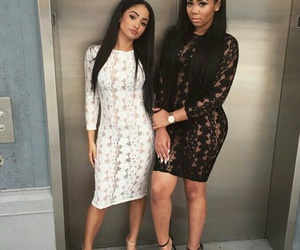 outfit, best friends, and fashion image