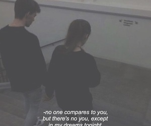 breakup, compare, and couple image