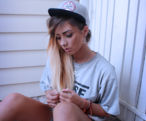 beautiful, nose piercing, and love image