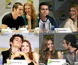 teen wolf, stydia, and dylan image