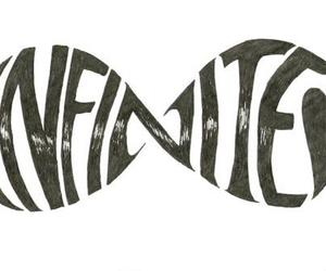 infinite, infinity, and quote image