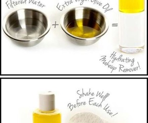 diy, makeup, and makeup remover image