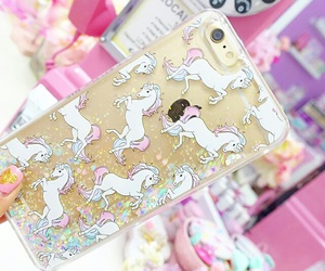 case, glitter case, and gold image