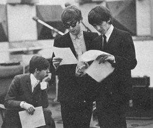 john lennon, Paul McCartney, and george harrison image