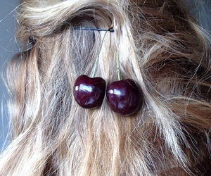 cherry and hair image