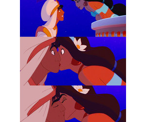 disney and kiss image