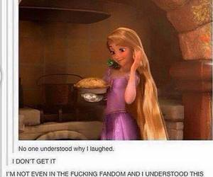 supernatural, funny, and tangled image