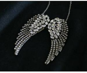 accessories, angel, and necklace image