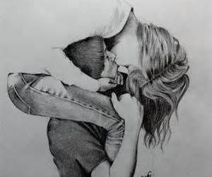 amazing, couple, and drawing image