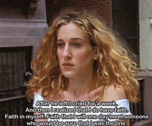 quotes, carrie, and sex and the city image