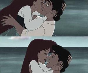love, disney, and kiss image