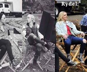 rydel and r5 funny image