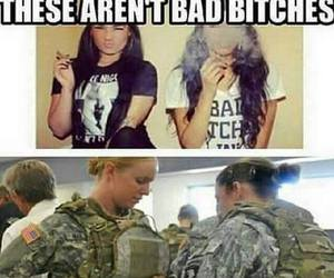 bitch, bad, and military image