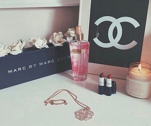 chanel, mac, and candle image